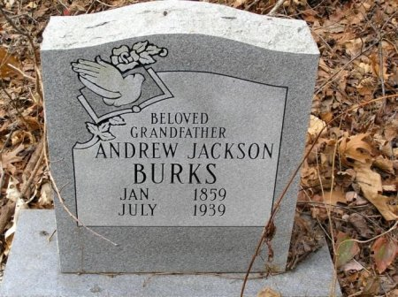BURKS, ANDREW JACKSON - Rutherford County, Tennessee   ANDREW JACKSON BURKS - Tennessee Gravestone Photos