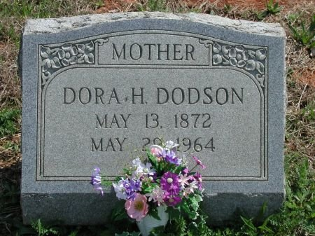 DODSON, DORA H. - Rutherford County, Tennessee | DORA H. DODSON - Tennessee Gravestone Photos