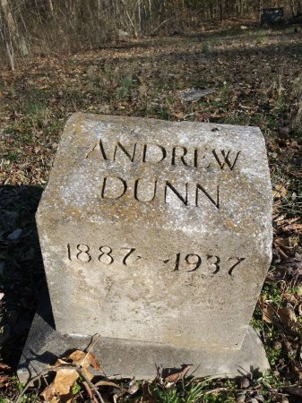 DUNN, ANDREW - Rutherford County, Tennessee | ANDREW DUNN - Tennessee Gravestone Photos