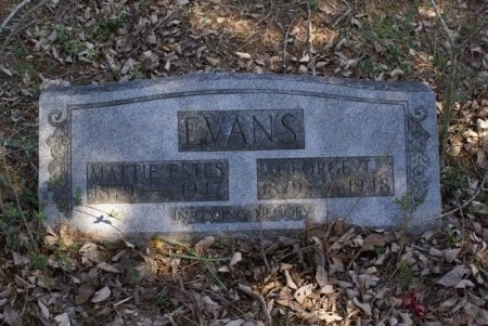 EVANS, GEORGE THOMAS - Rutherford County, Tennessee | GEORGE THOMAS EVANS - Tennessee Gravestone Photos