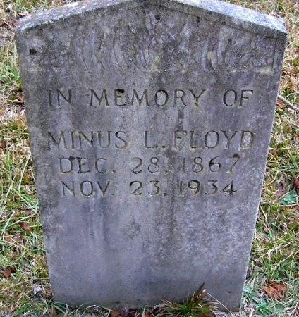 FLOYD, MINUS L. - Rutherford County, Tennessee | MINUS L. FLOYD - Tennessee Gravestone Photos