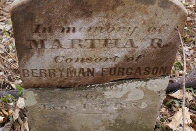 FURGASON, MARTHA R. (CLOSE UP) - Rutherford County, Tennessee | MARTHA R. (CLOSE UP) FURGASON - Tennessee Gravestone Photos