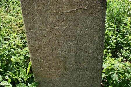 JONES, M. J. - Rutherford County, Tennessee | M. J. JONES - Tennessee Gravestone Photos