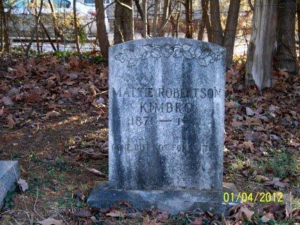 KIMBRO, MATTIE - Rutherford County, Tennessee | MATTIE KIMBRO - Tennessee Gravestone Photos