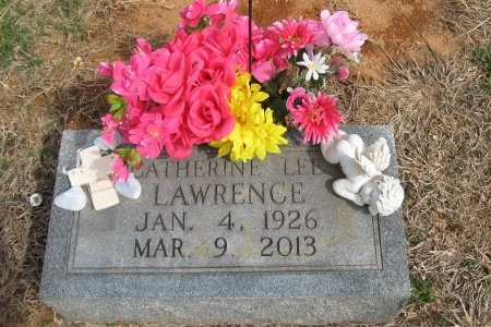 LEE LAWRENCE, CATHERINE - Rutherford County, Tennessee | CATHERINE LEE LAWRENCE - Tennessee Gravestone Photos