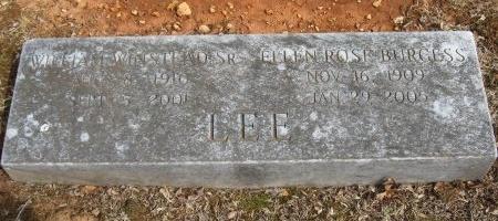 LEE, ELLEN ROSE - Rutherford County, Tennessee | ELLEN ROSE LEE - Tennessee Gravestone Photos
