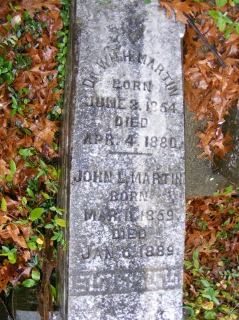 MARTIN, WILLIAM H. (DOCTOR) - Rutherford County, Tennessee | WILLIAM H. (DOCTOR) MARTIN - Tennessee Gravestone Photos