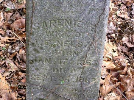 NELSON, SARENIE  - Rutherford County, Tennessee | SARENIE  NELSON - Tennessee Gravestone Photos