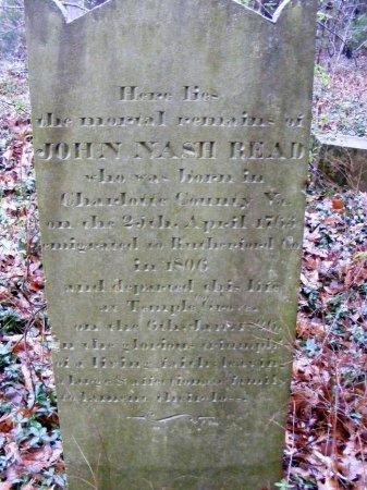 READ, JOHN NASH - Rutherford County, Tennessee | JOHN NASH READ - Tennessee Gravestone Photos
