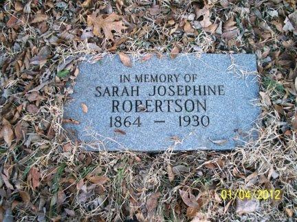 "SMITH ROBERTSON, SARAH JOSEPHINE ""JOSIE"" - Rutherford County, Tennessee | SARAH JOSEPHINE ""JOSIE"" SMITH ROBERTSON - Tennessee Gravestone Photos"