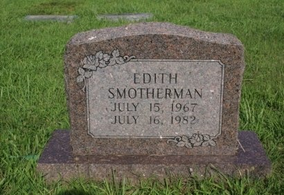 SMOTHERMAN, EDITH MARIE - Rutherford County, Tennessee | EDITH MARIE SMOTHERMAN - Tennessee Gravestone Photos