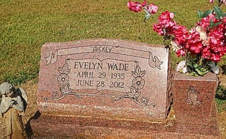 WADE, EVELYN - Rutherford County, Tennessee | EVELYN WADE - Tennessee Gravestone Photos