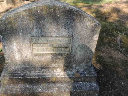 WADE, JERRIAH - Rutherford County, Tennessee | JERRIAH WADE - Tennessee Gravestone Photos