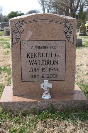 WALDRON, KENNETH GRAY - Rutherford County, Tennessee | KENNETH GRAY WALDRON - Tennessee Gravestone Photos