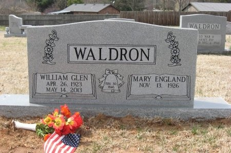WALDRON, WILLIAM GLEN - Rutherford County, Tennessee | WILLIAM GLEN WALDRON - Tennessee Gravestone Photos