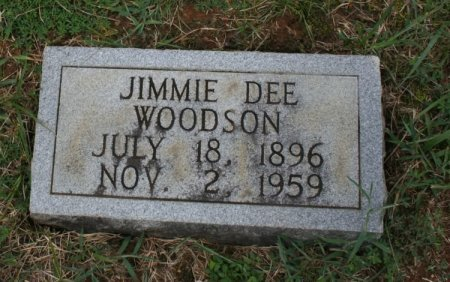 WOODSON, JIMMIE DEE - Rutherford County, Tennessee   JIMMIE DEE WOODSON - Tennessee Gravestone Photos