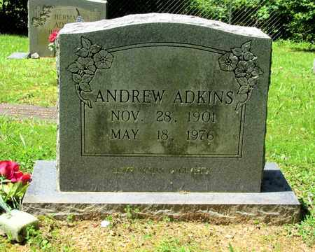 ADKINS, ANDREW - Scott County, Tennessee   ANDREW ADKINS - Tennessee Gravestone Photos