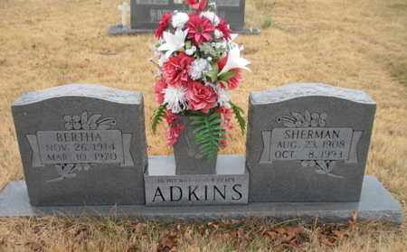 ADKINS, SHERMAN - Scott County, Tennessee | SHERMAN ADKINS - Tennessee Gravestone Photos