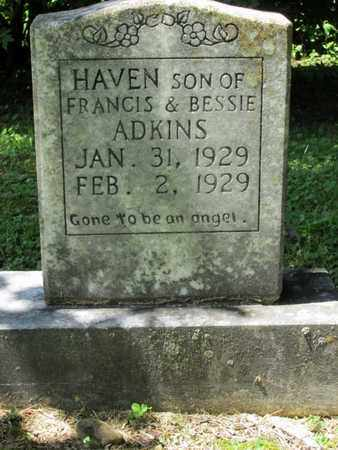 ADKINS, HAVEN - Scott County, Tennessee | HAVEN ADKINS - Tennessee Gravestone Photos