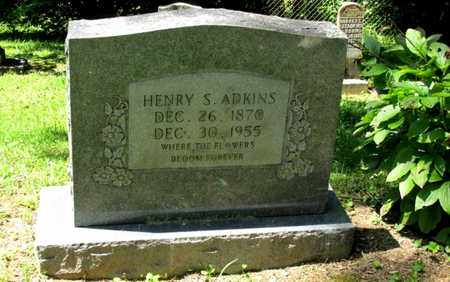ADKINS, HENRY S. - Scott County, Tennessee | HENRY S. ADKINS - Tennessee Gravestone Photos