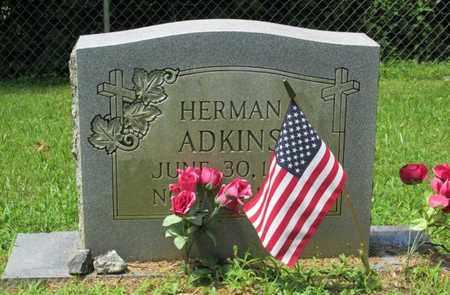ADKINS, HERMAN - Scott County, Tennessee   HERMAN ADKINS - Tennessee Gravestone Photos