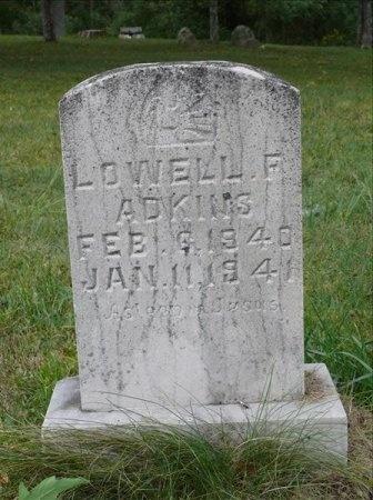 ADKINS, LOWELL F. - Scott County, Tennessee | LOWELL F. ADKINS - Tennessee Gravestone Photos