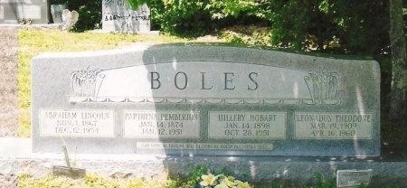 BOLES, PARTHENA  - Scott County, Tennessee | PARTHENA  BOLES - Tennessee Gravestone Photos