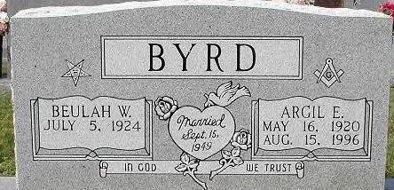 BYRD, BEULAH GERRLEAN - Scott County, Tennessee   BEULAH GERRLEAN BYRD - Tennessee Gravestone Photos