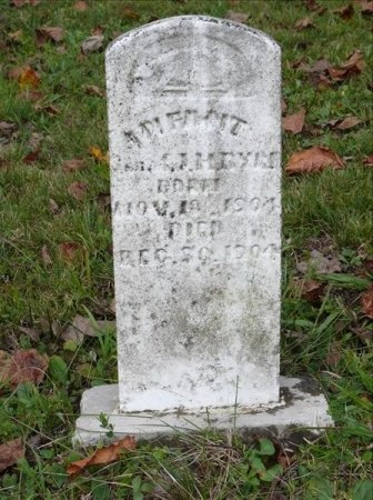 BYRD, INFANT - Scott County, Tennessee | INFANT BYRD - Tennessee Gravestone Photos