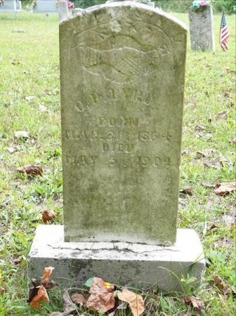 BYRD, OLIVER PERRY - Scott County, Tennessee | OLIVER PERRY BYRD - Tennessee Gravestone Photos
