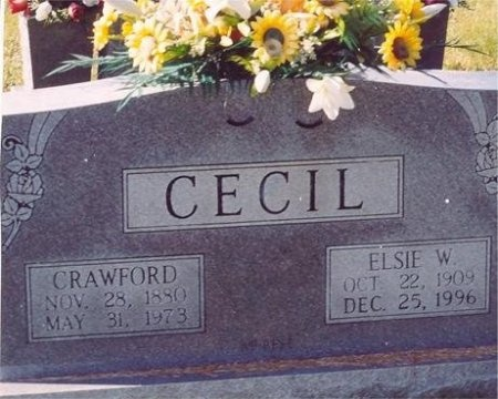 CECIL, ELSIE  - Scott County, Tennessee | ELSIE  CECIL - Tennessee Gravestone Photos