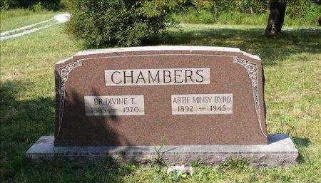 BYRD CHAMBERS, ARTIE MINSY - Scott County, Tennessee | ARTIE MINSY BYRD CHAMBERS - Tennessee Gravestone Photos