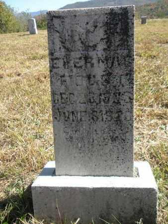 FOUST, ERVA MAE* - Scott County, Tennessee   ERVA MAE* FOUST - Tennessee Gravestone Photos