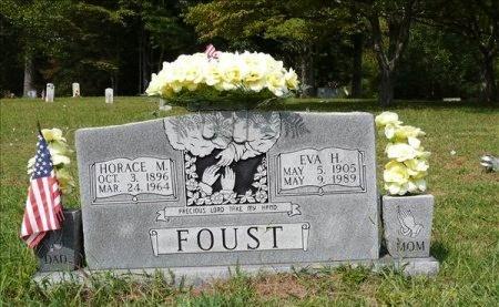 "HUTSON FOUST, EVA ""EFFIE"" - Scott County, Tennessee | EVA ""EFFIE"" HUTSON FOUST - Tennessee Gravestone Photos"