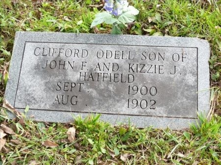 HATFIELD, CLIFFORD ODELL - Scott County, Tennessee | CLIFFORD ODELL HATFIELD - Tennessee Gravestone Photos