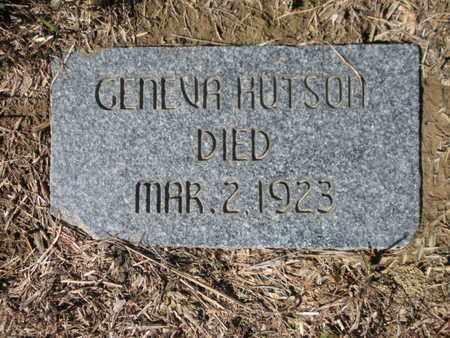HUTSON, GENEVA - Scott County, Tennessee   GENEVA HUTSON - Tennessee Gravestone Photos