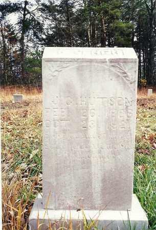 HUTSON, JAMES CALVIN - Scott County, Tennessee | JAMES CALVIN HUTSON - Tennessee Gravestone Photos