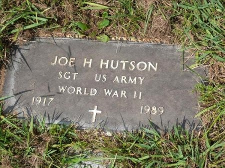 HUTSON (VETERAN WWII), JOE HENRY - Scott County, Tennessee   JOE HENRY HUTSON (VETERAN WWII) - Tennessee Gravestone Photos