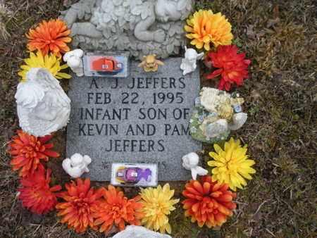 JEFFERS, A J - Scott County, Tennessee | A J JEFFERS - Tennessee Gravestone Photos