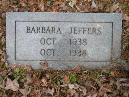 JEFFERS, BARBARA - Scott County, Tennessee | BARBARA JEFFERS - Tennessee Gravestone Photos