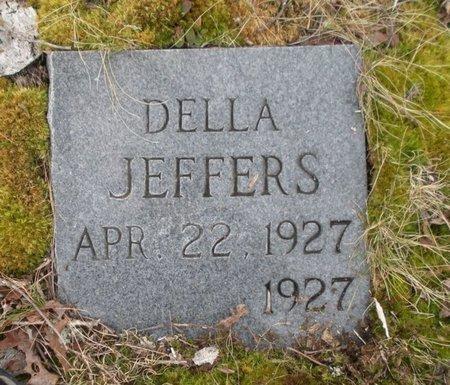 JEFFERS, DELLA - Scott County, Tennessee   DELLA JEFFERS - Tennessee Gravestone Photos
