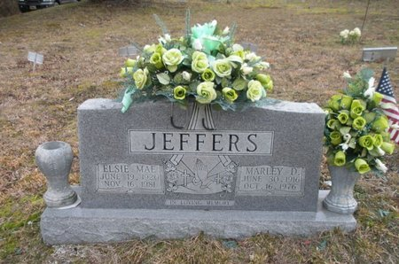 JEFFERS, MARLEY D - Scott County, Tennessee | MARLEY D JEFFERS - Tennessee Gravestone Photos