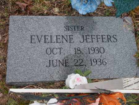 JEFFERS, EVELENE - Scott County, Tennessee | EVELENE JEFFERS - Tennessee Gravestone Photos