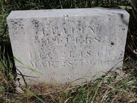 JEFFERS, FEALIN - Scott County, Tennessee | FEALIN JEFFERS - Tennessee Gravestone Photos