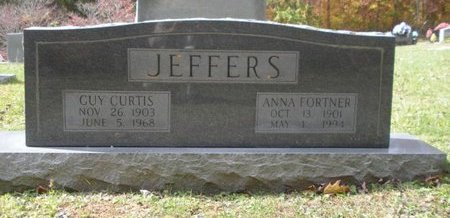JEFFERS, GUY CURTIS - Scott County, Tennessee | GUY CURTIS JEFFERS - Tennessee Gravestone Photos