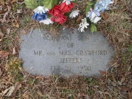 JEFFERS, INFANT SON - Scott County, Tennessee | INFANT SON JEFFERS - Tennessee Gravestone Photos