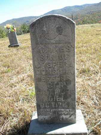 JEFFERS, JAMES - Scott County, Tennessee | JAMES JEFFERS - Tennessee Gravestone Photos