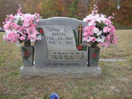 JEFFERS, LINDA L - Scott County, Tennessee | LINDA L JEFFERS - Tennessee Gravestone Photos