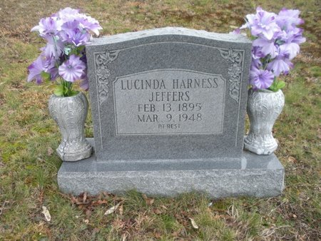 JEFFERS, LUCINDA - Scott County, Tennessee | LUCINDA JEFFERS - Tennessee Gravestone Photos