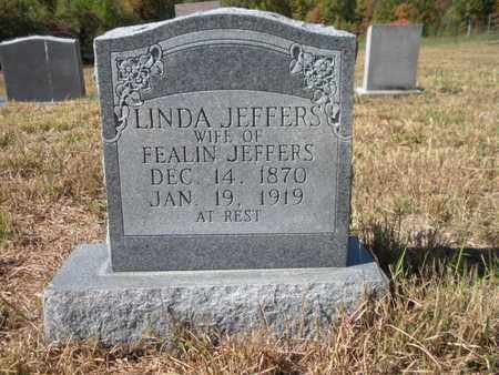 JEFFERS, LINDA - Scott County, Tennessee | LINDA JEFFERS - Tennessee Gravestone Photos